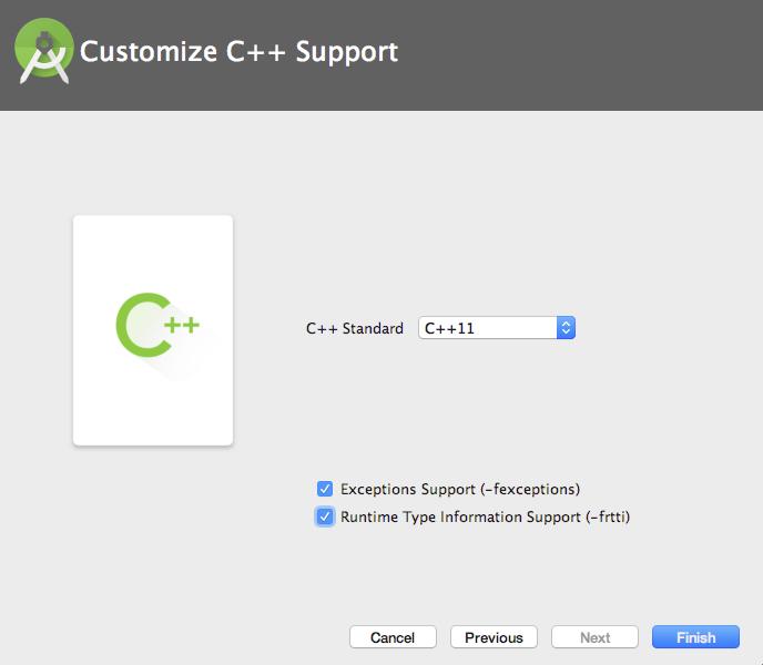 Android Customize C++